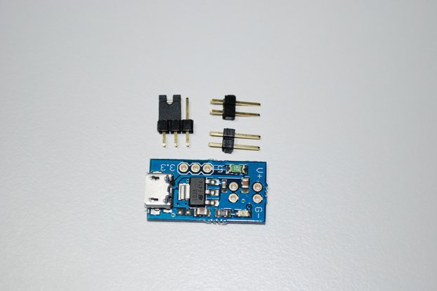 Power supply adaptor with microusb connector