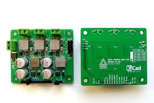 High-Power RGB-LED Driver V1.3X