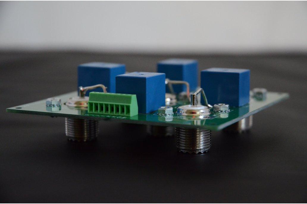 WiFi Wireless Ham Antenna Switch with Status 6