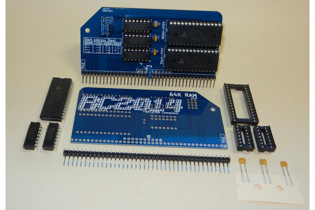 64K RAM Module For RC2014 - Z80 Homebrew Computer 4