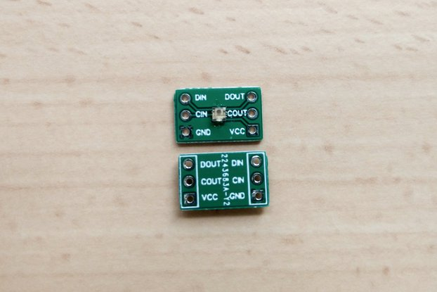APA102-2020 RGB LED Breakout Board