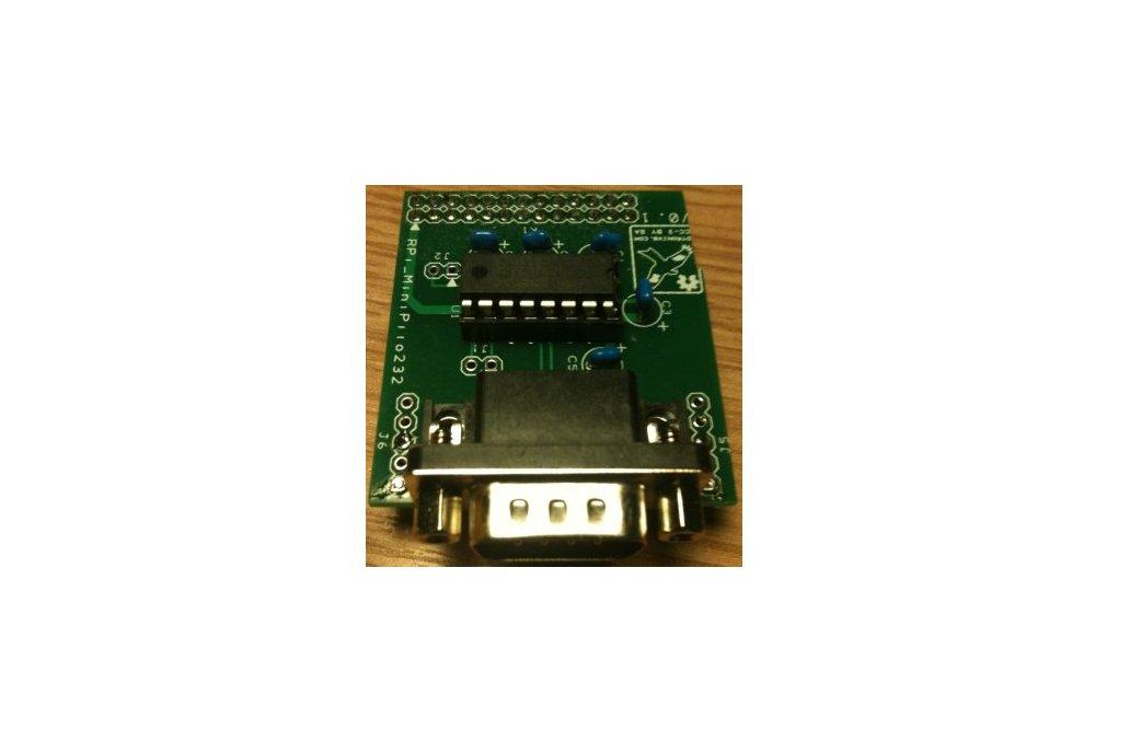 Raspberry PIIO - MiniPiio RS232 add-on board 2