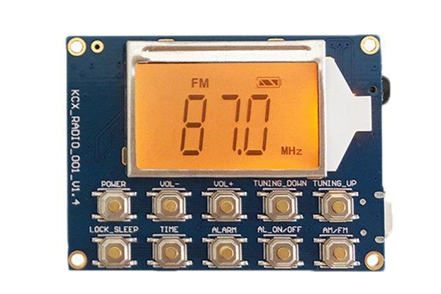 DC 3.7V FM MW SW Radio Receiver Module(GY19732)