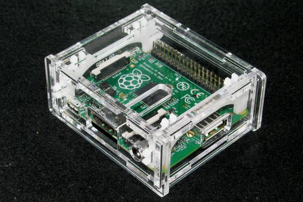 Clear Raspberry Pi A+ Case
