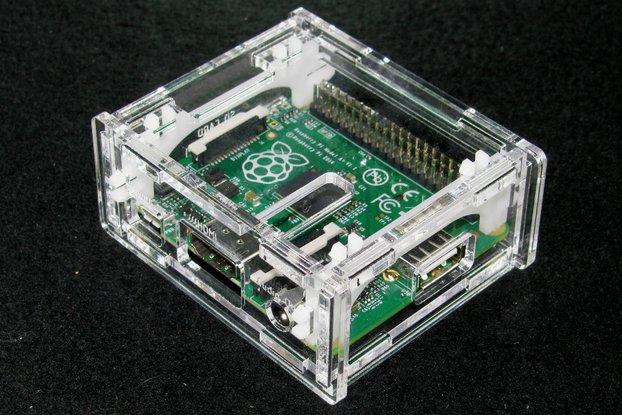 Clear Raspberry Pi A+ Case
