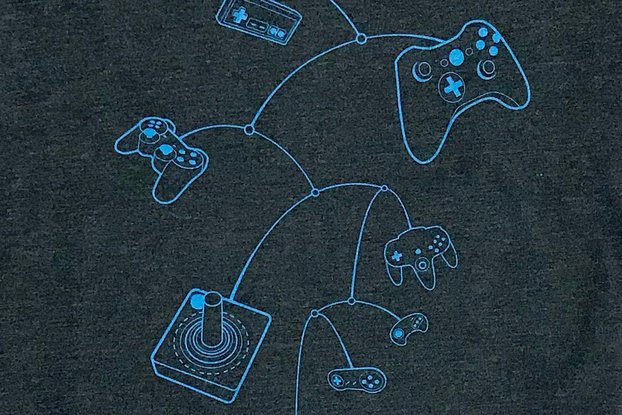 Mobile Controllers Graphic T-shirt