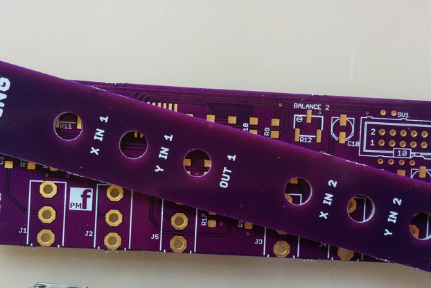 Eurorack Dual Ring Modulator (PCB and Panel)