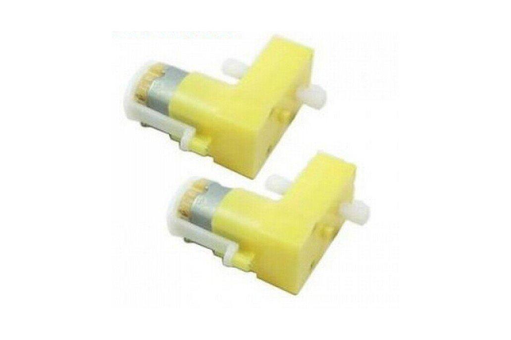 DC TT Motor-Biaxial (4 pcs/pack) 1