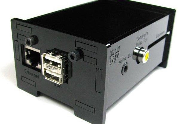 Raspberry Pi Enclosure Kit - Black