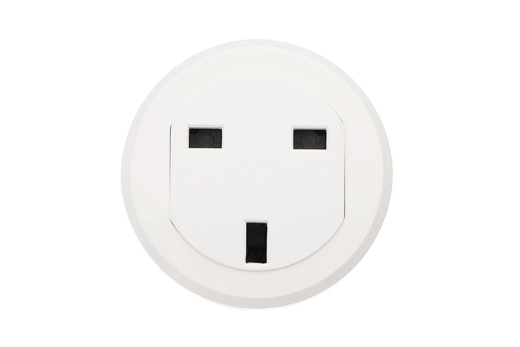 UK Standard Smart WiFi Socket Round Wifi Socket 1
