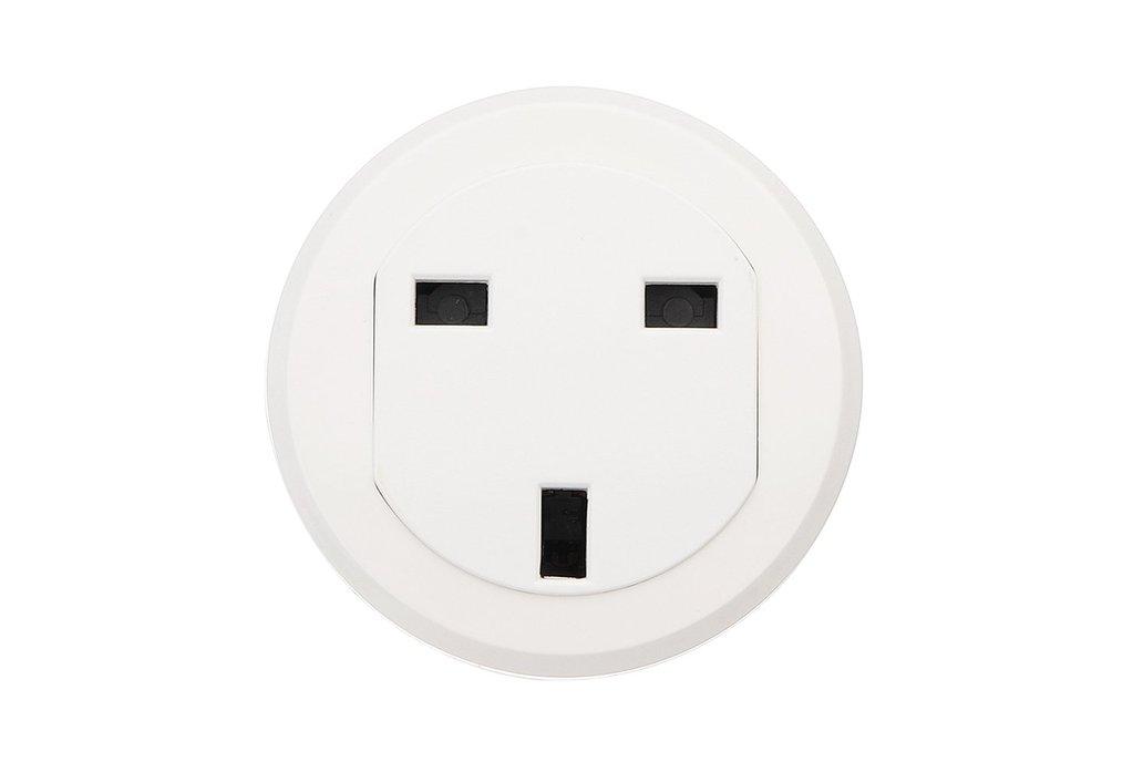 UK Standard Smart WiFi Socket Round Wifi Socket 1