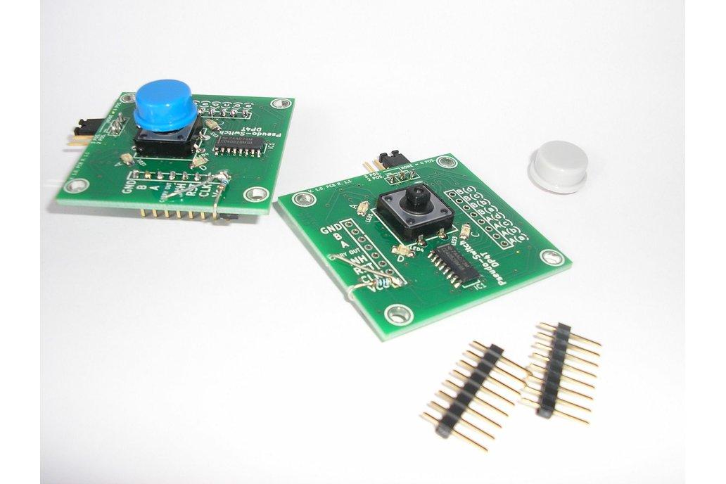 Pseudo-Switch DP4T: 4pos. AC/DC Analogue Switch 4