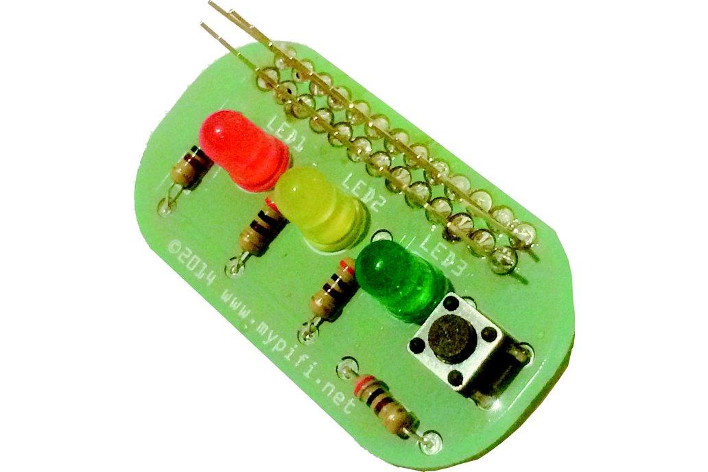 MyPiFi LED Board 1