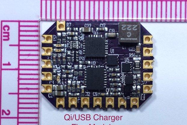 Qi/USB Charger Flex Module