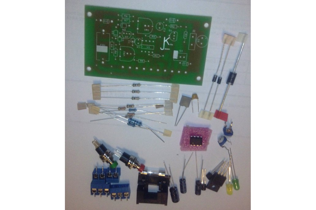 Wind Turbine / Solar 555 Based Charge Controller K 1