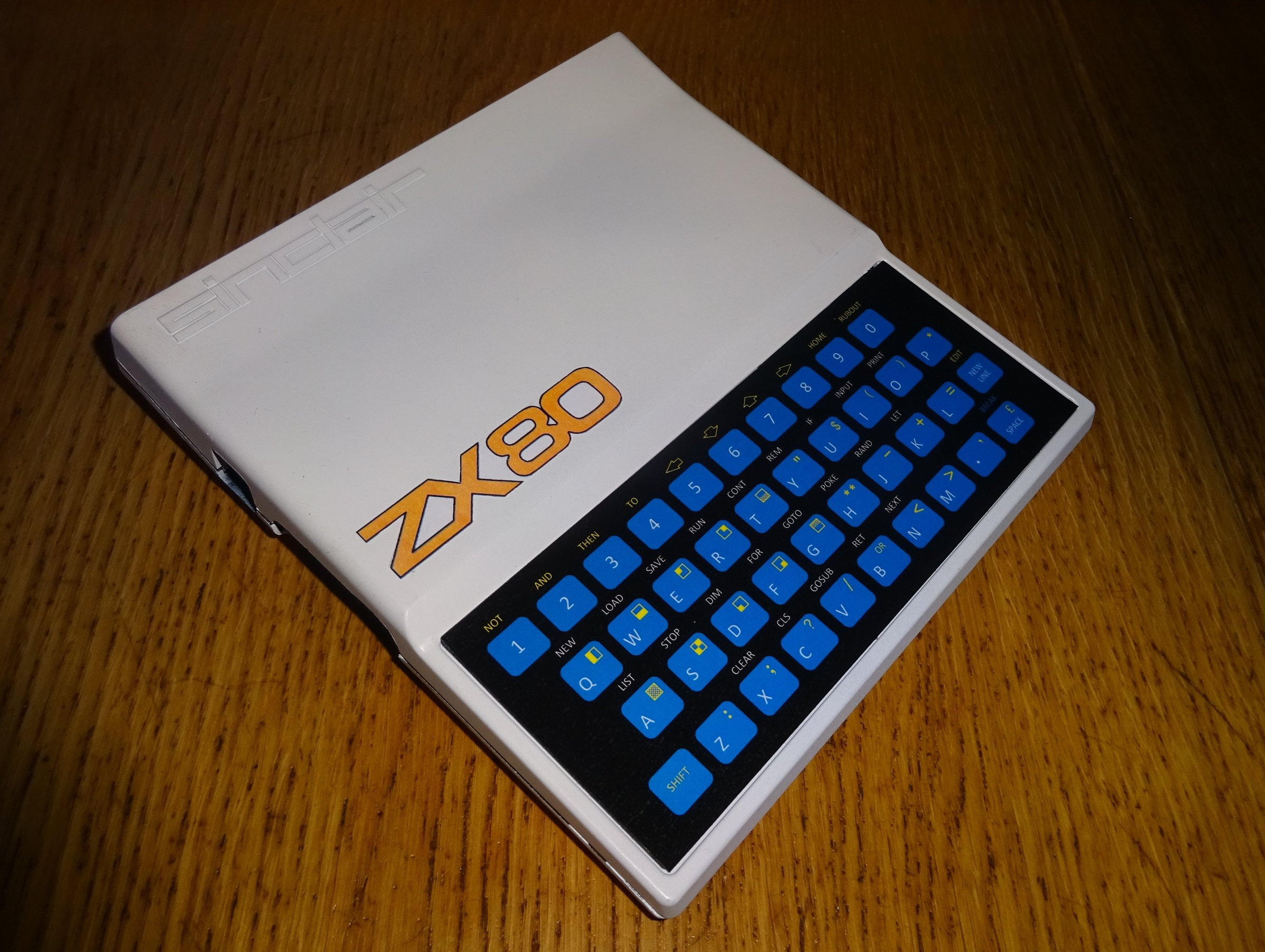 Minstrel ZX80 Clone from Tynemouth Software on Tindie