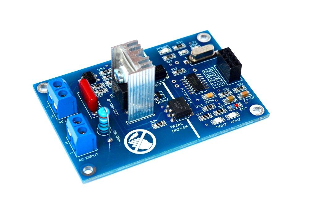 PWM AC Light Dimmer Module 50Hz 60Hz Triac