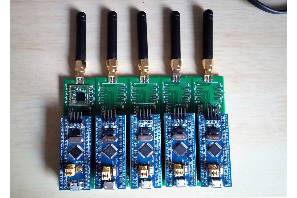 Low Cost LoRa USB Dongle with STM32 1