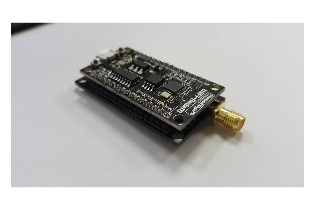 ESP8266 RFM95  Lorawan Node PCB with battery 1