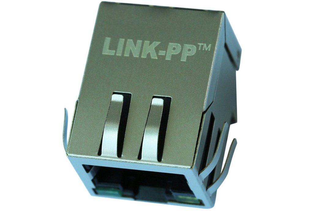 2-1840408-6 Ethernet 8P8C RJ45 Jack Connector 1