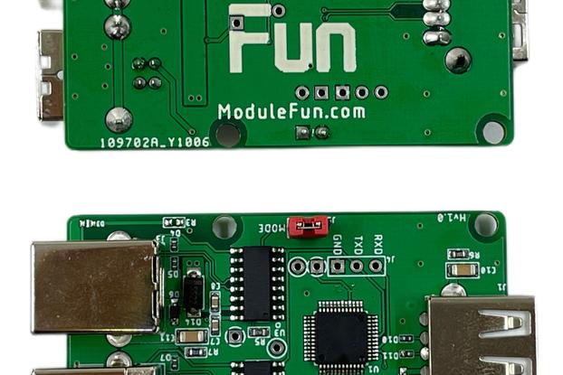 USB-HID data copy module