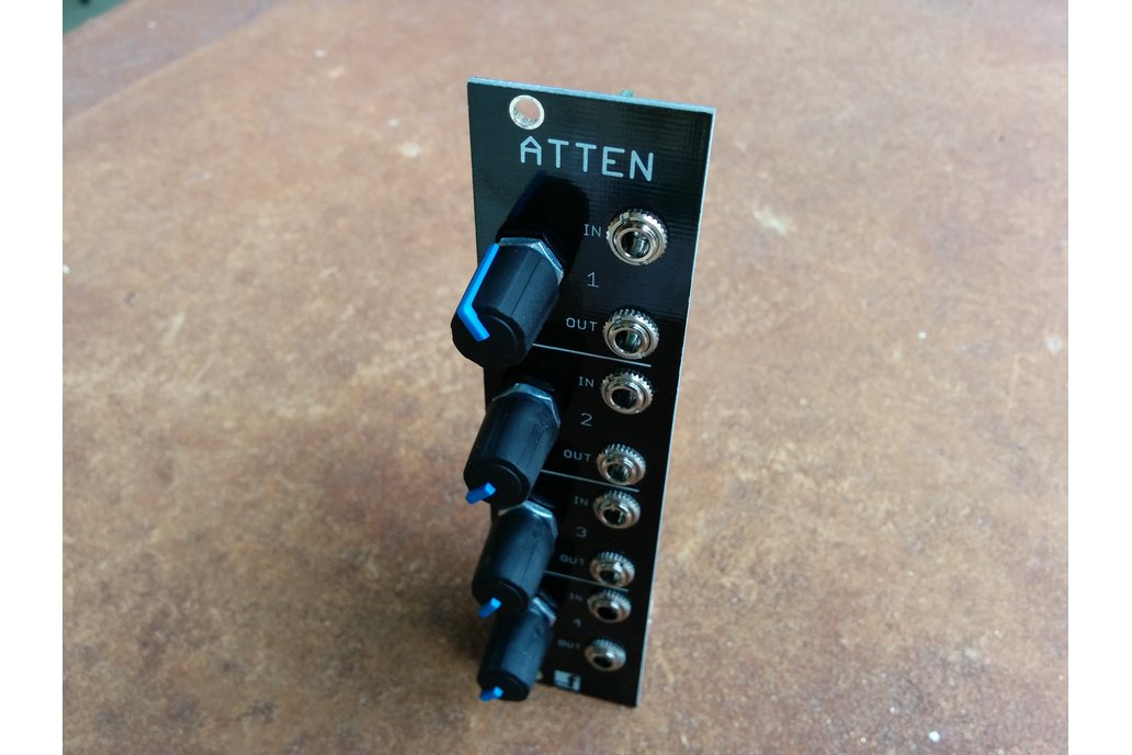 Quad Attenuator (Eurorack PCB Set) 3