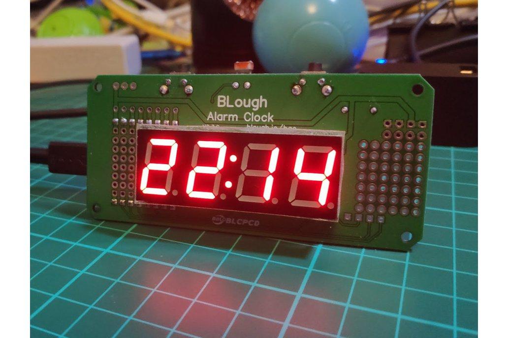 BLough Alarm Clock - Shield for Wemos D1 Mini 1