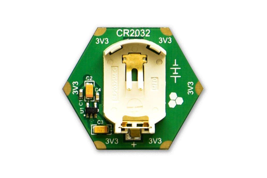 CR2032 Coin-cell Battery Holder Module 3