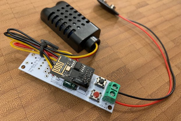WIFI Low Power Temperature and Humidity logger s2