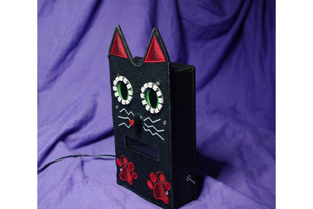 Phillipe the Leftbank beatnik cat clock 1