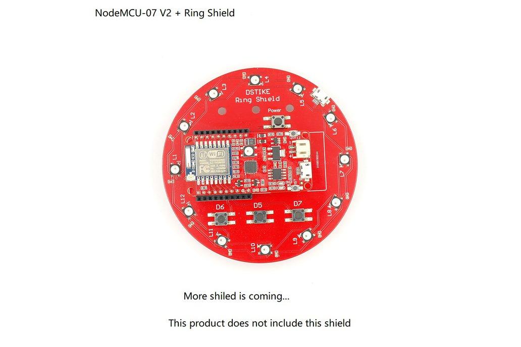 DSTIKE NodeMCU-07 V2 6