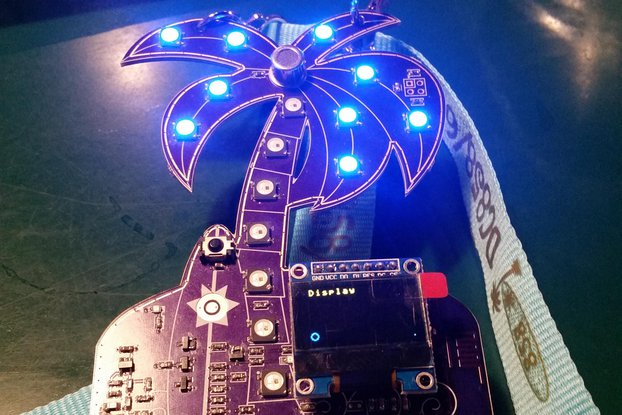 DC858/619 unofficial DEF CON badge