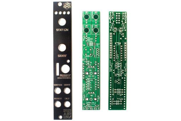 Sound Study Modular Air Wav PCB & Panel