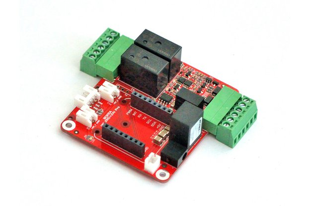 I2C module with 2 relays and 2 analog inputs