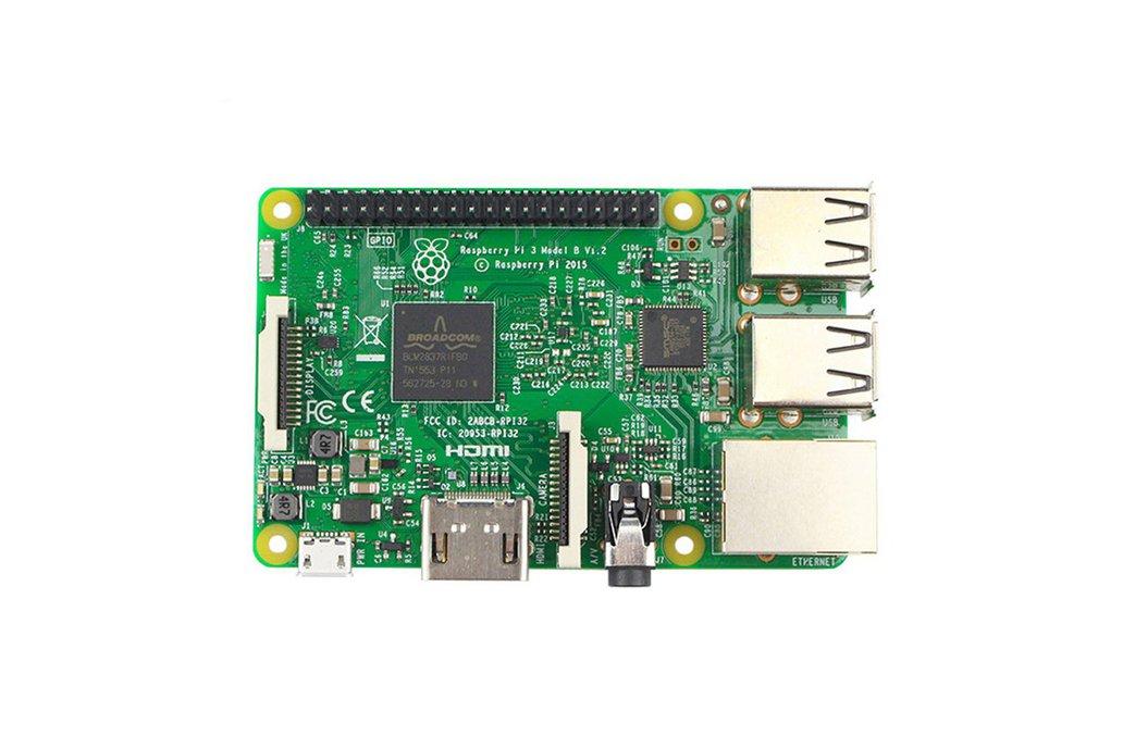 "Raspberry Pi 3 Model B + 3.5"" Display Kit 2"