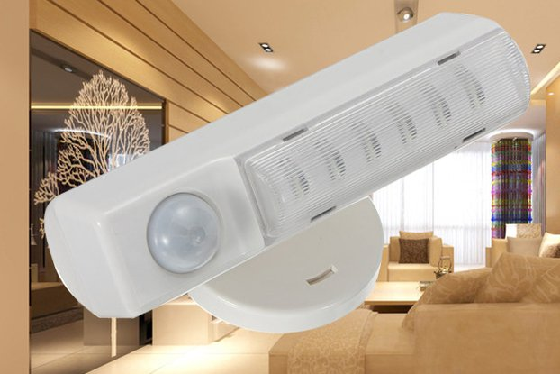 Wall Wireless LED Infrared Motion Detector Sensor