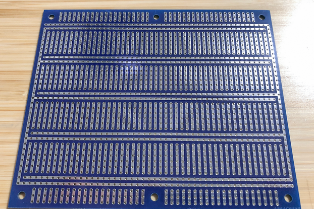 Large Double-Sided Prototyping Board - Blue
