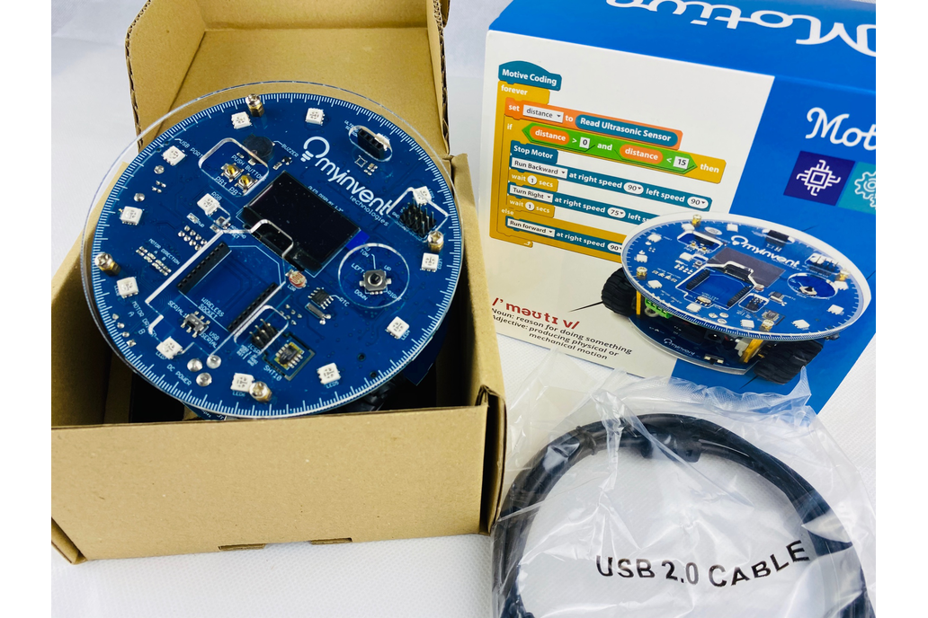 Motive – 2WD Smart Educational Robotic Kit 1