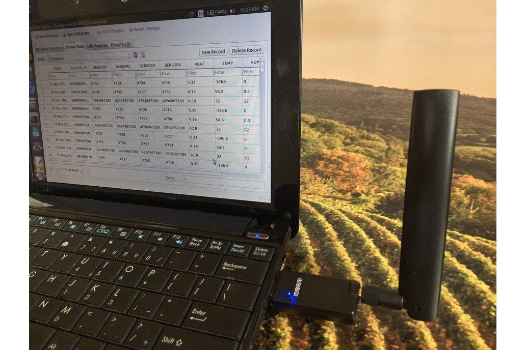 Globalsat LD-20H LoRa USB dongle for Vinduino 4