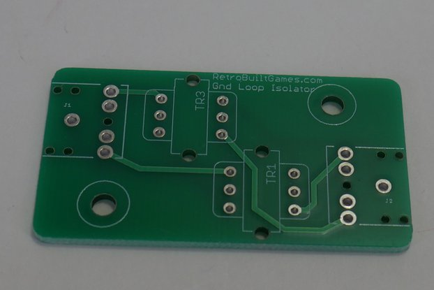 Ground Loop Isolator PCB