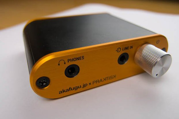 cMoy Headphone amplifier with deluxe enclosure