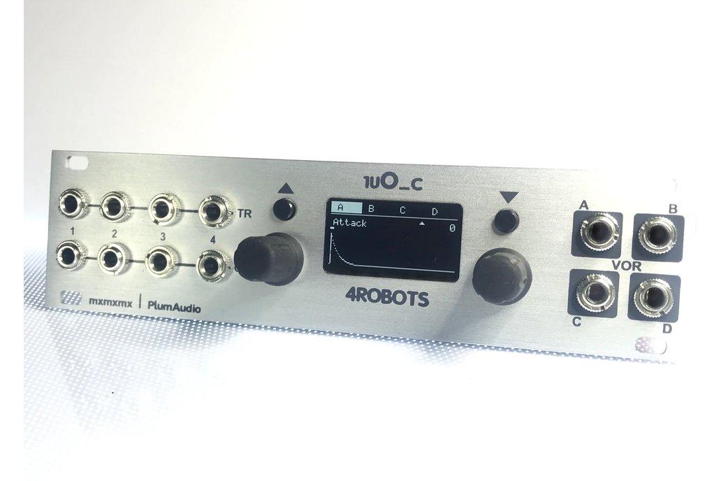 1uO_c 4ROBOTS - OC for Intellijel 1u - Eurorack 1
