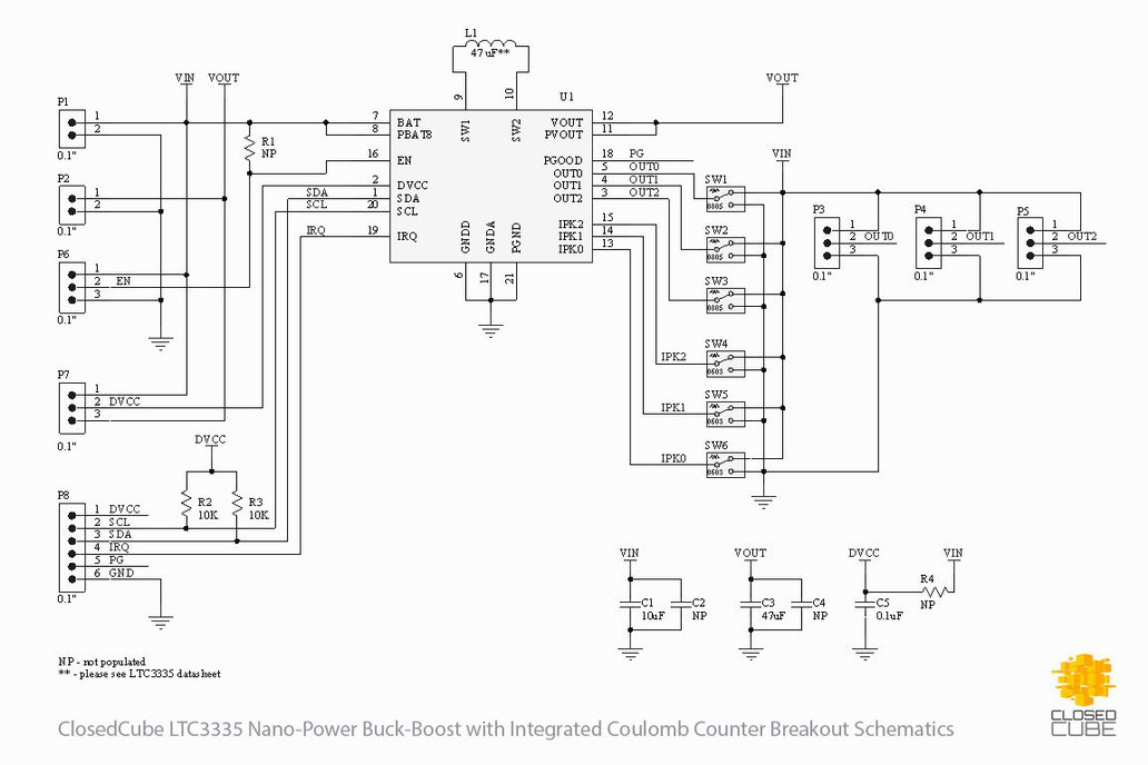LTC3335 Nanopower Buck-Boost with Coulomb Counter 4