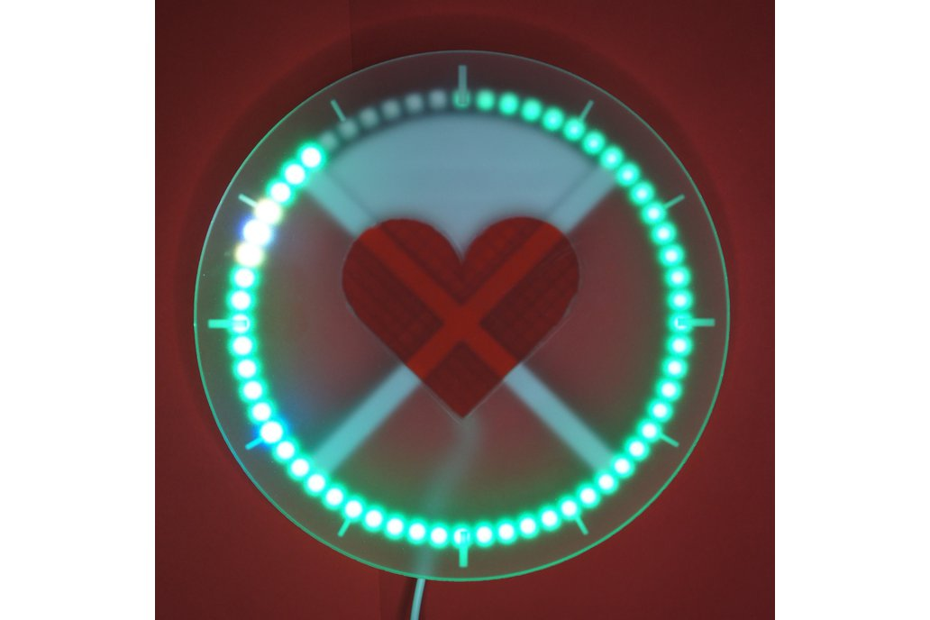 Nolio in Love - Hearty LED Wall Clock 1