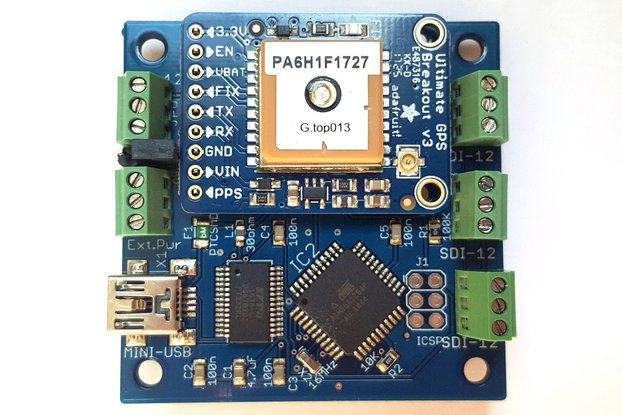 SDI-12 USB Adapter with GPS