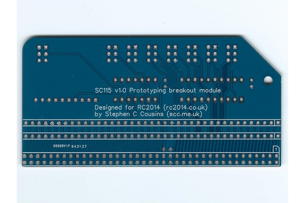 SC115 Prototyping Breakout Board for RC2014 8