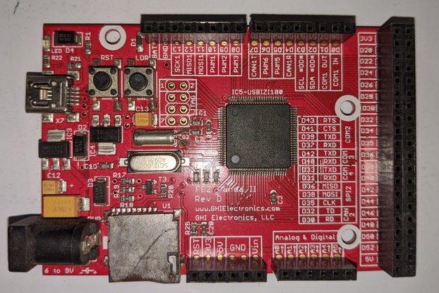 Used Panda Fez II .NETMF Board