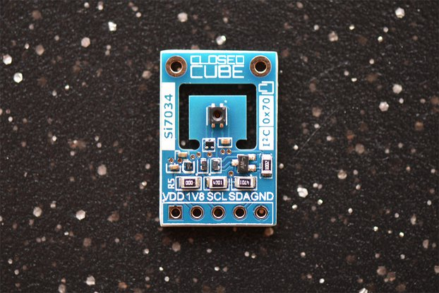 Si7034 Digital I2C RH/T Sensor with 1.8V LDO