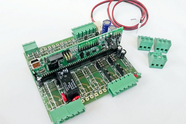 Archiduino - Base Kit - The modular controller 100% software compatible with Arduino