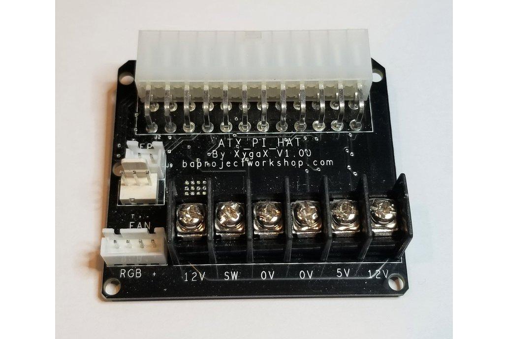 ATXPiHat - ATX PSU Interface for 3D Printers 1